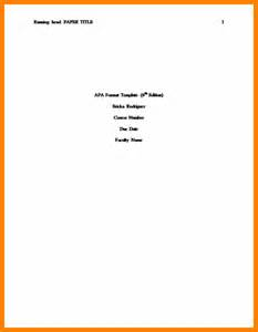 apa format title page 6th edition template apa title page format template 187 ideas home design