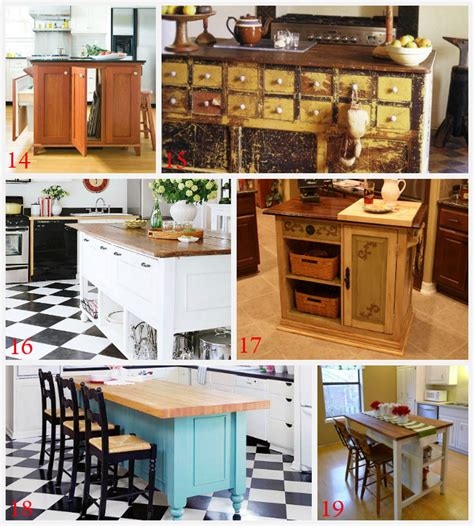 homemade kitchen island ideas kitchen island ideas decorating and diy projects