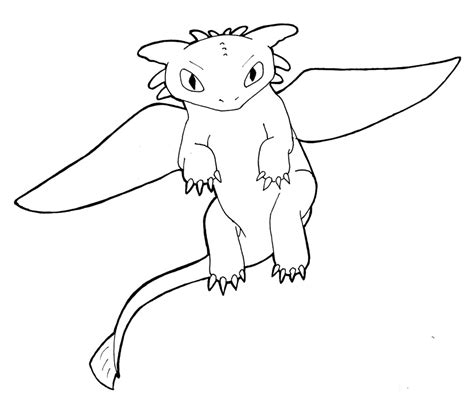 how to draw toothless flying