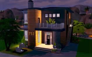 Build House Plan the sims 4 desert house 753 homeless sims