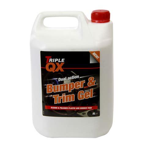 Pg Tyre Bumper Trim Shine by Qx Bumper Tyre Shine Trim Gloss Finish 5