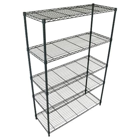 room essentials wide 5 tier wire shelving unit target