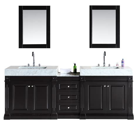 home design outlet center bathroom vanities design element odyssey 88 double sink vanity set with