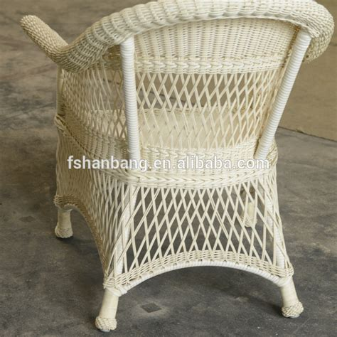 White All Weather Outdoor Indoor Garden Lowes Resin Pvc Pvc Wicker Patio Furniture