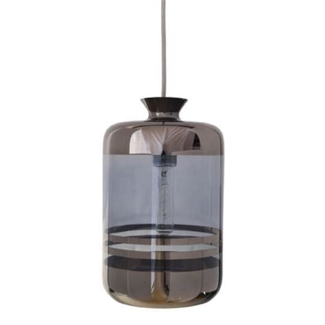 hanging glass bottle demijohn ceiling pendant in striped