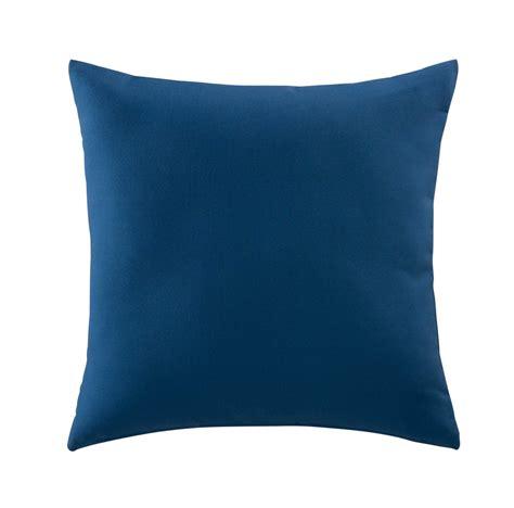 coussin exterieur coussin d ext 233 rieur bleu 50 x 50 cm maisons du monde