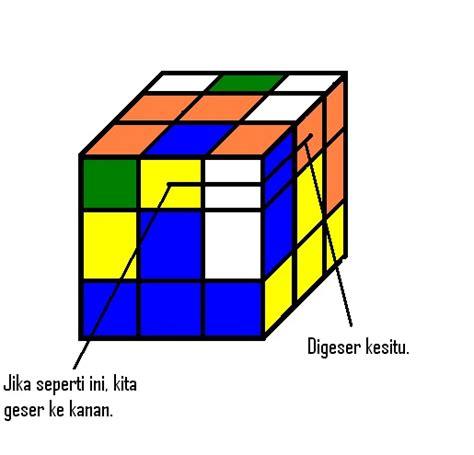 tutorial rubik cube 3x3 untuk pemula rahayu tri agustia ningsih cara menyelesaikan rubik cube