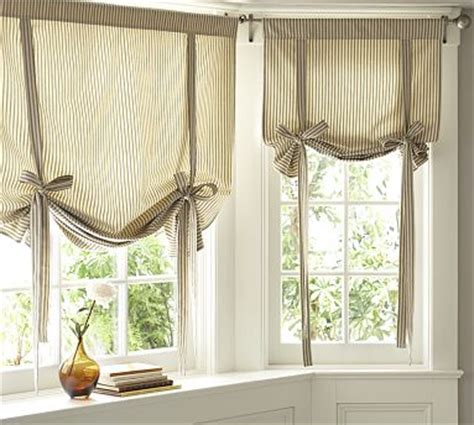 pottery barn kitchen curtains tie up curtains on pinterest valances curtains and faux