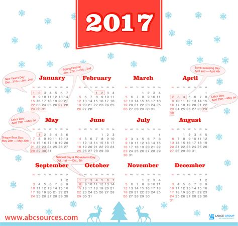 chinese national holidays 2017 abc sources