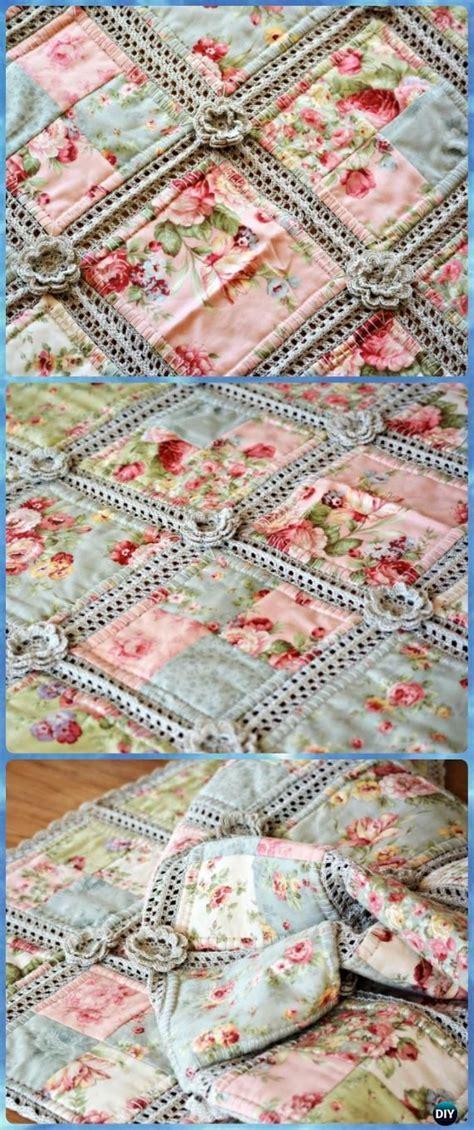 sommer steppdecke crochet summer blanket free patterns virkning knappar