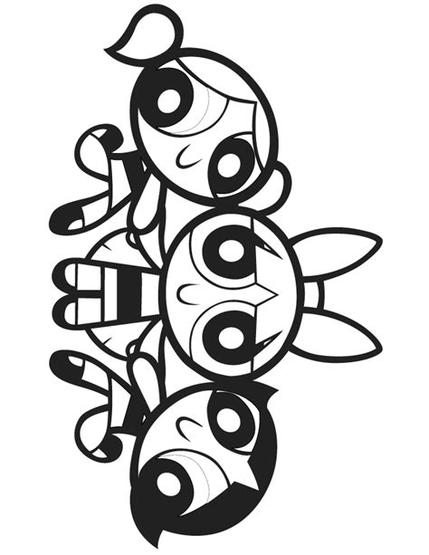 powerpuff girl coloring pages powerpuff girls coloring pages bubbles coloring home