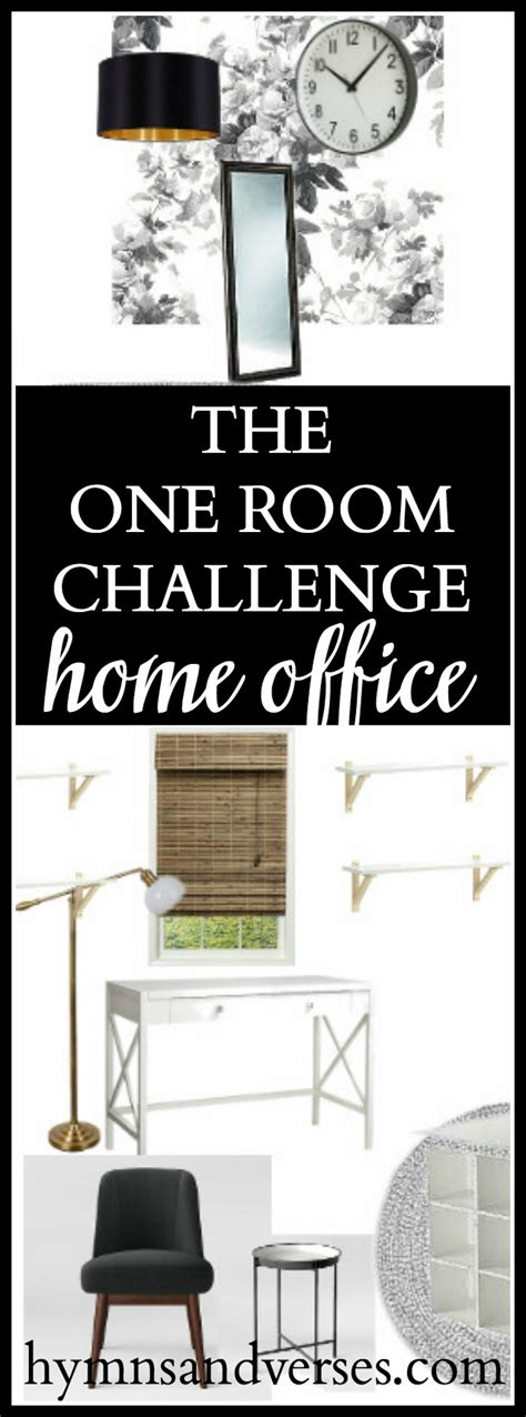 one room challenge home office hymns and verses