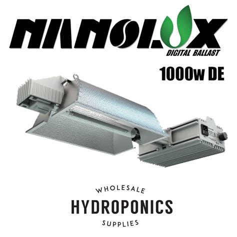 1000 Watt L by Nanolux 1000w De Ended Complete Fixture 240v 1000
