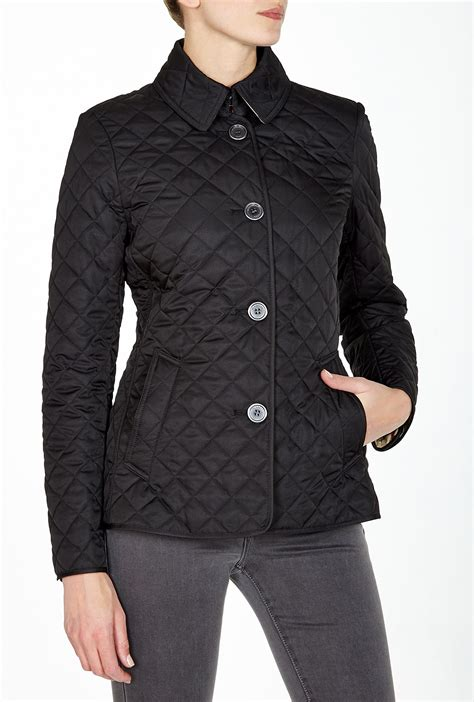 Burberry Brit Copford Quilted Jacket by Burberry Brit Copford Quilted Jacket In Black Lyst