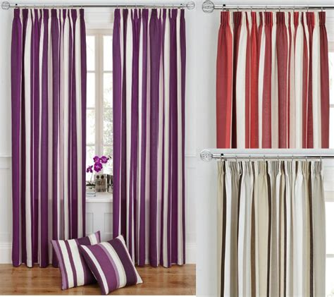 striped purple curtains striped modern pair of tape top fully lined ready made