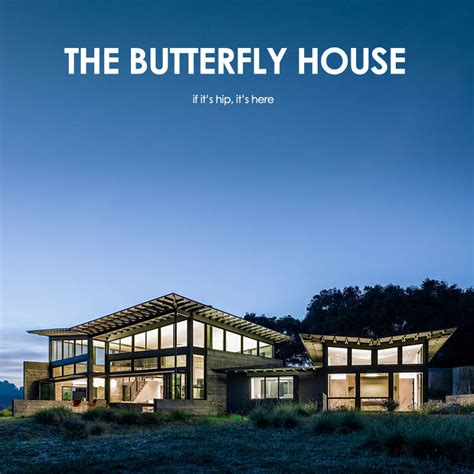 the butterfly house the butterfly house spectacular location design and integration if it s hip it s