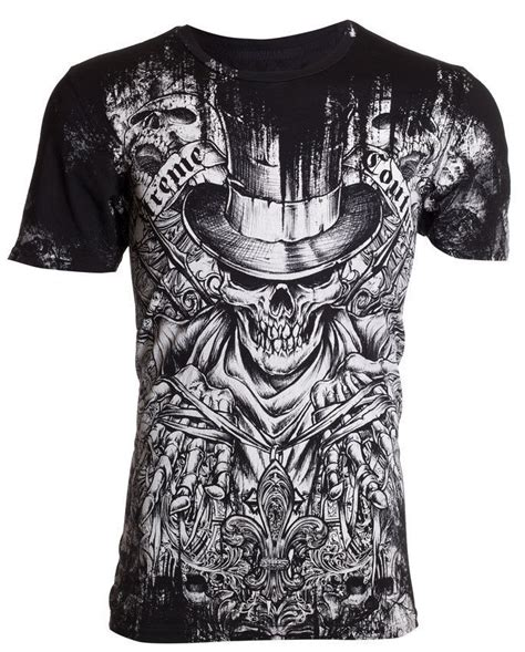 Skull The Shirt xtreme couture affliction t shirt offering skulls