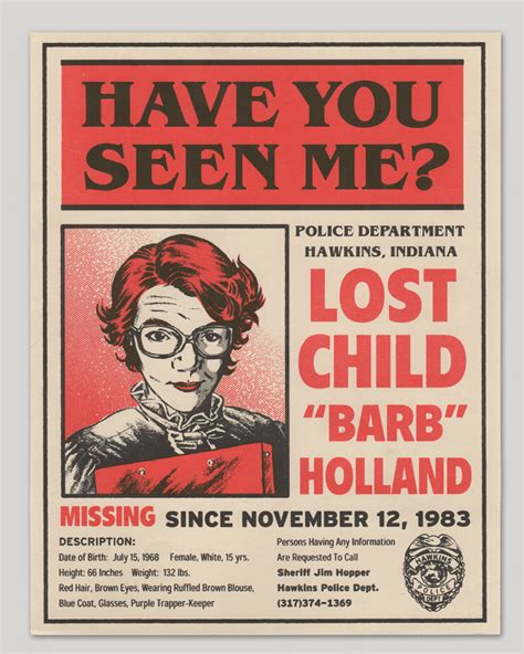 printable missing poster stranger things missing barb flyer 183 big bot 183 online