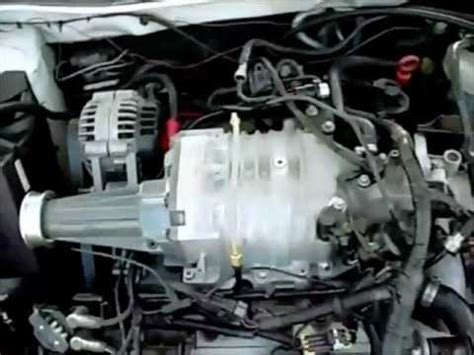 series  supercharged  intercooler installed hose