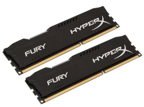 Ram Laptop Dual Channel hyperx fury black 8gb 2x4gb dual channel kit ddr3 1600mhz