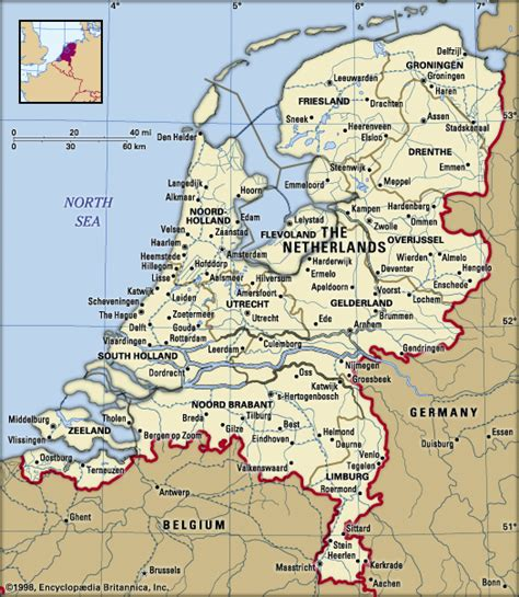 netherlands lakes map netherlands facts destinations and culture