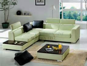 Green Leather Sectional Sofa Modern Line Furniture Commercial Furniture Custom Made Furniture Contemporary Furniture