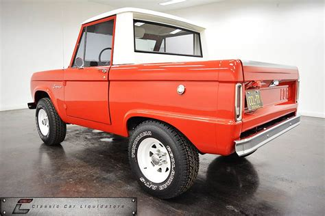 ford bronco half cab this 1967 ford bronco half cab is the king of cool ford