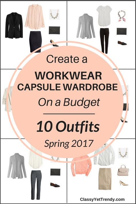 New Wardrobe On A Budget by Create A Workwear Capsule Wardrobe On A Budget 10