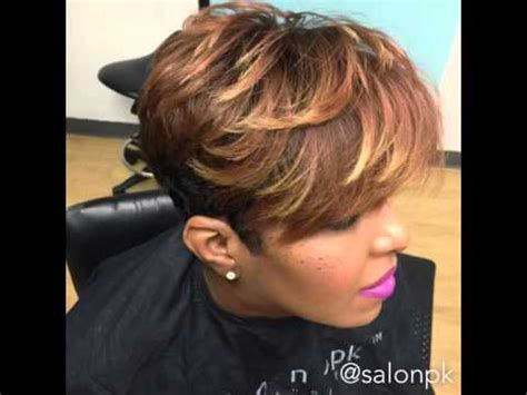 hairstyles short hair youtube short haircuts for black women youtube