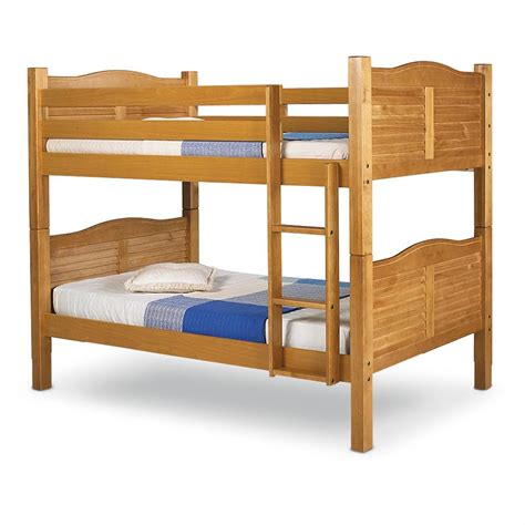 shutter bedroom furniture shutter style bunk bed 179566 bedroom sets at sportsman s guide