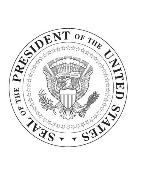 united states seal coloring page free printable presidential seal coloring pages coloring