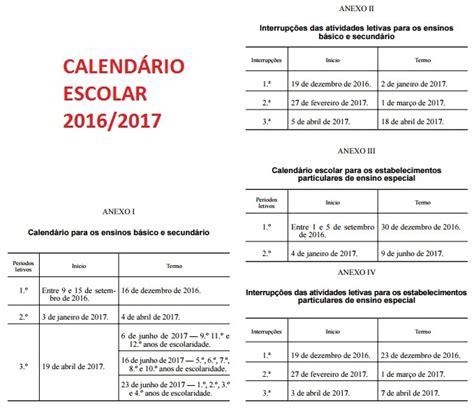 diario oficial calendario escolar 2016 2017 calend 225 rio escolar 2016 2017 187 blog dear lindo