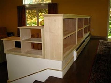 How To Build A Half Wall Bookcase 060 jpg