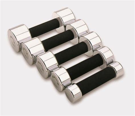 Aerobic Dumbell 3kg Pr 1 5kg X 2 Kettler Baru tunturi chrome dumbbells foam voordelig kopen t fitness