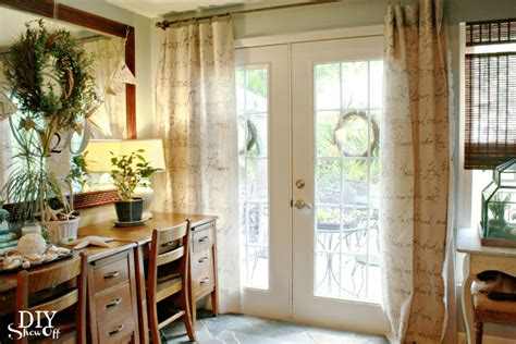 Patio Door Window Treatments Top Five Diy Patio Door Window Treatments