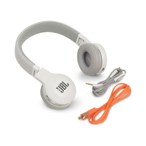 Jbl E45 Bt Headphone White headphone bluetooth jbl e45