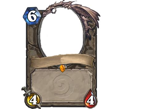 hearthstone gold card template make your own card general discussion hearthstone