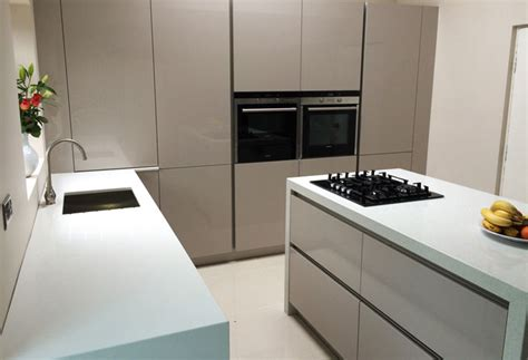 german kitchens by design fino sand grey high gloss