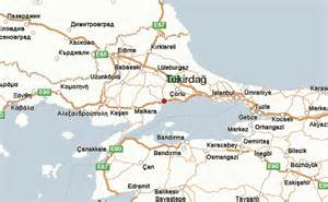 tekirdağ location guide