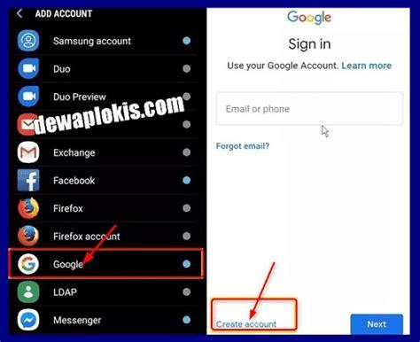 membuat akun gmail   hp  verifikasi email