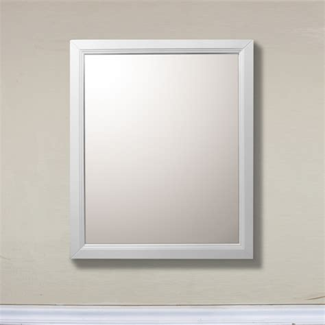 bathroom mirrors white white rectangular vanity mirror uvbh7610mwh