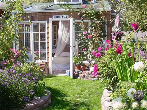 Garden Retreat Shed charming garden retreats hgtv