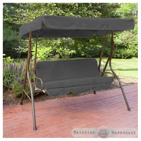 swing bench canopy replacement replacement 2 seater swing seat canopy cover and cushions