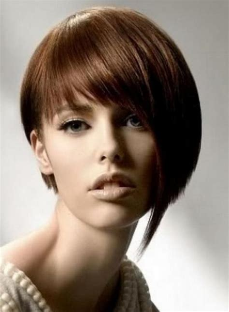 asymmetrical bob for thick hair 17 effortless chic short haircuts for thick hair styles