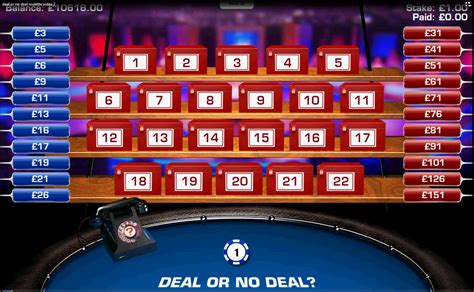 Deal Or No Deal Roulette Wizard Of Odds Deal Or No Deal