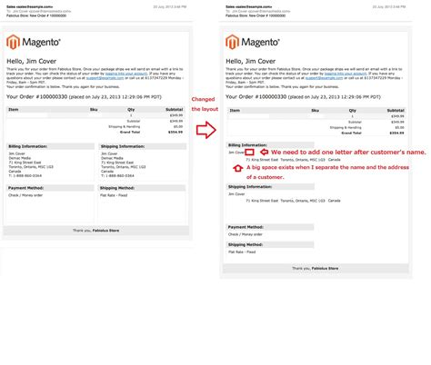 magento layout email changing the layout of new order email magento forums