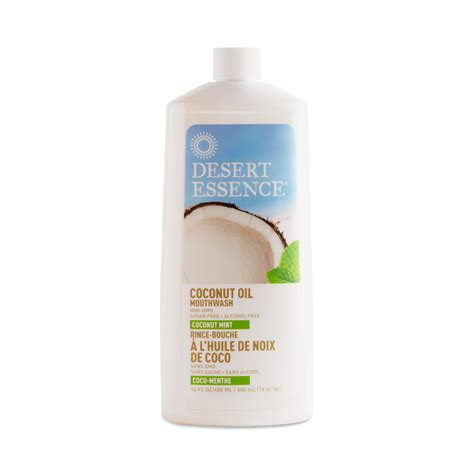 Desert Essence Coconut Oil Mouthwash   Thrive Market