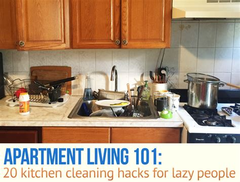 cleaning for lazy people 20 kitchen cleaning hacks for lazy people 6sqft