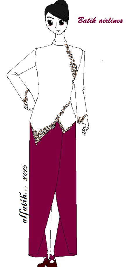 batik air vs sriwijaya fashion alfatih desain seragam pramugari by paint v