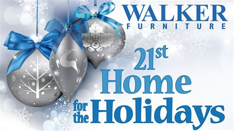 walker furniture s 21st annual home for the holidays